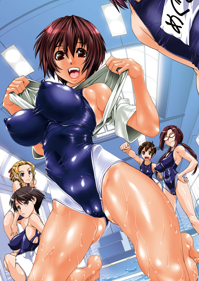 Swim suite hentai movie